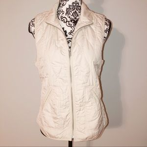 Small Old Navy Cream off white Vest